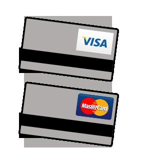 Betalkort - betala direkt med VISA & Mastercard